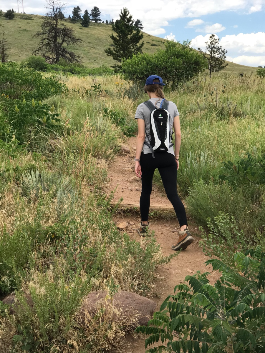 Hiking in Boulder, Colorado