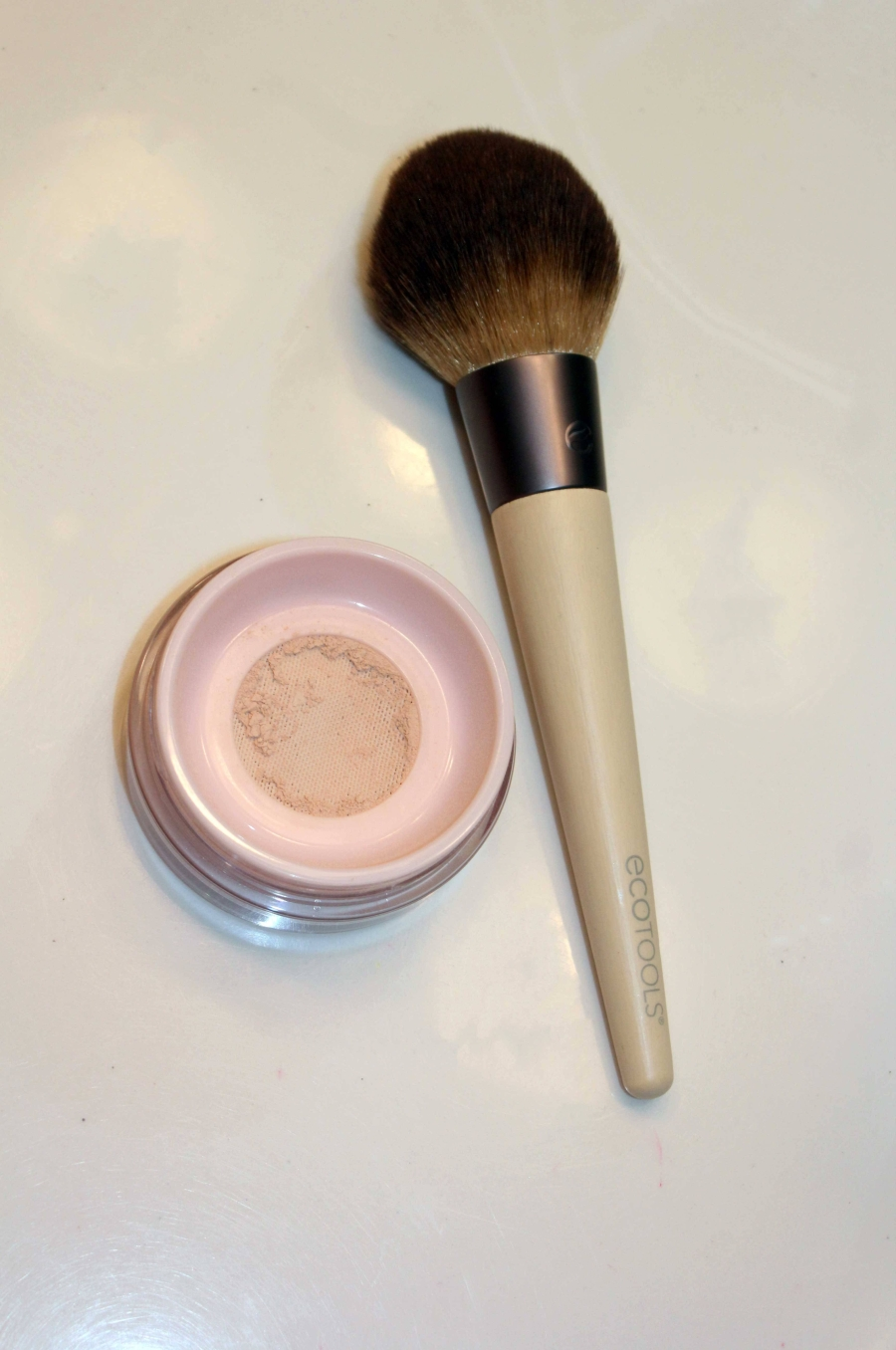 Eco Tools Brush and Glossier Powder